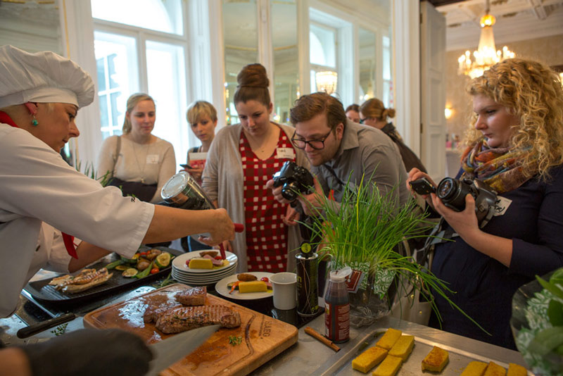 Foodcamp showcooking